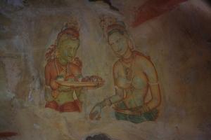 Buddist Art, Sigiriya, Sri Lanka
